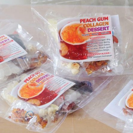 PEACH GUM COLLAGEN DESSERT